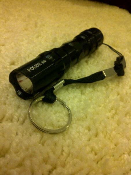 senter kecil police 3 watt