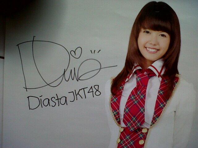 Poster Diasta JKT48 + Sign