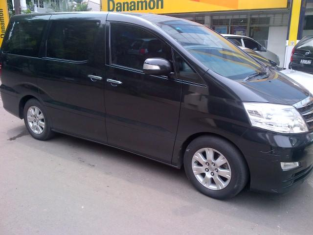 Toyota Alphard MZG 3.0 Full Option th 2007 Hitam