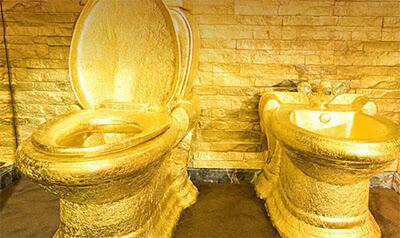 Hotel Yang Terbuat Dari 6 Ton Emas