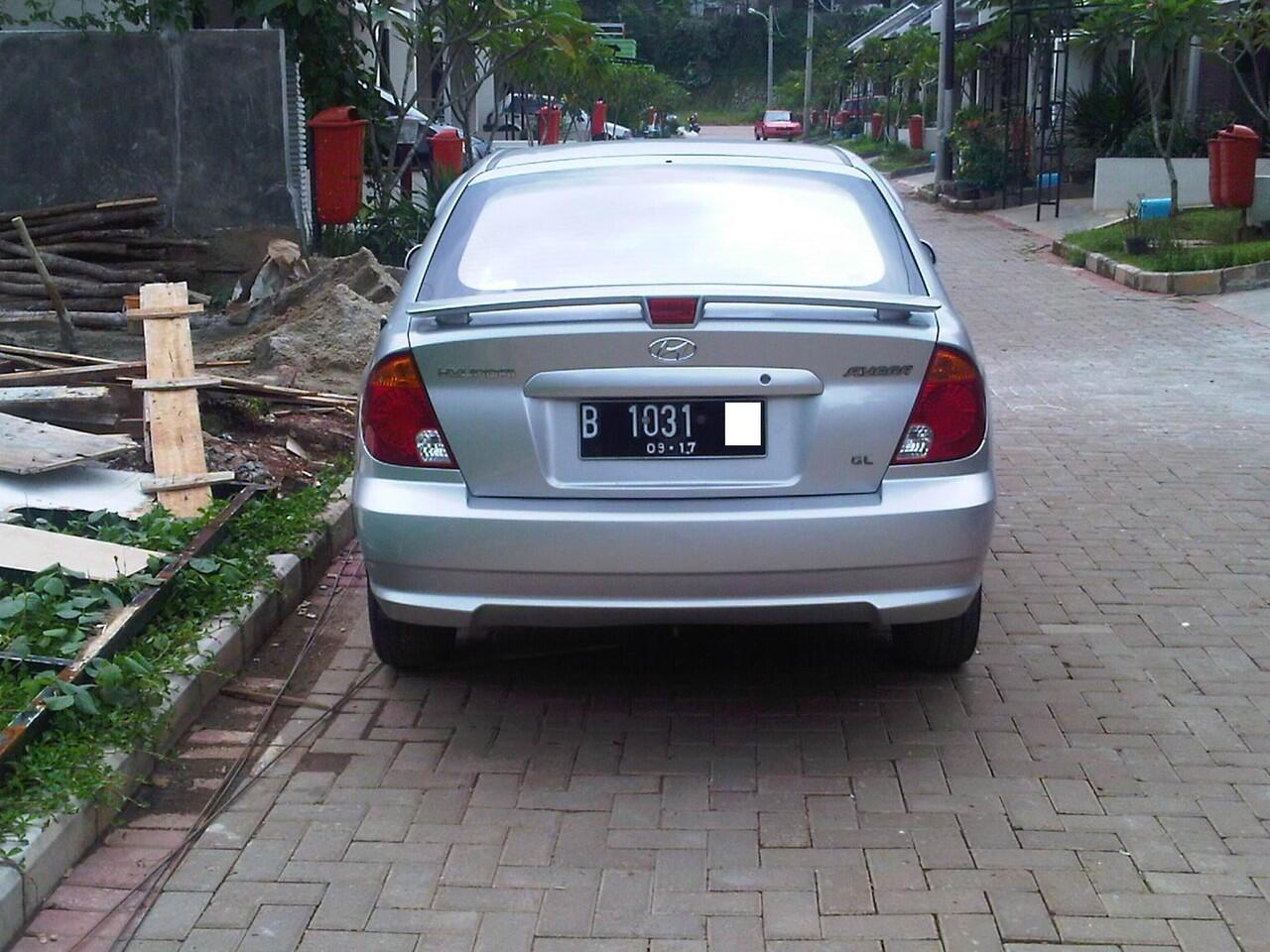 Jual Hyundai Avega Th 2007