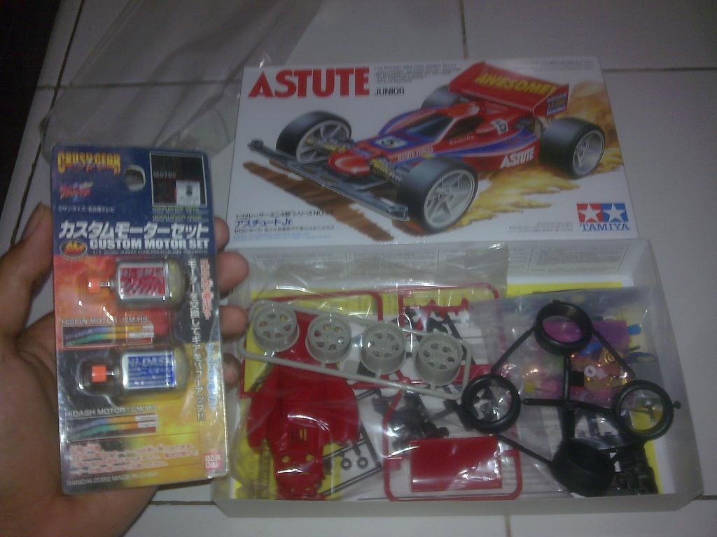Wts / Dijual Tamiya Astute Junior Tahun 1991 Made in Philippines (BNIB)