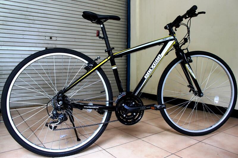 Terjual Sepeda Hybrid Polygon Heist