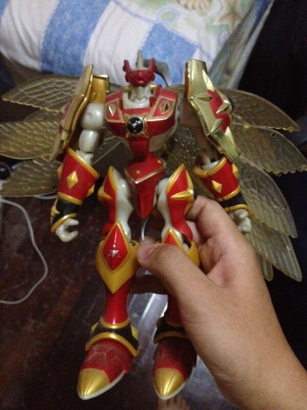 Digimon action figure bandai