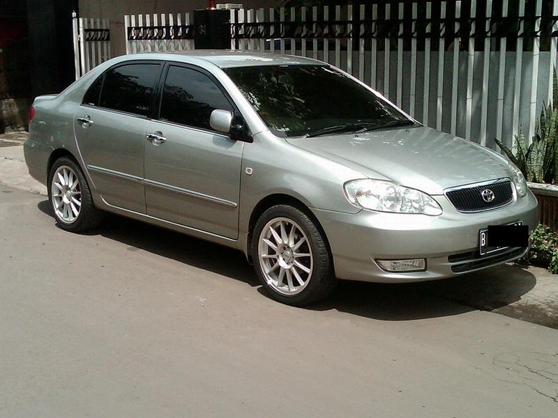 Jual Corolla Altis G M/T Th.2003