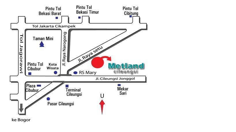 Dijual Kavling luas tanah 109m2 posisi hook cocok buat investasi @Metland Cileungsi