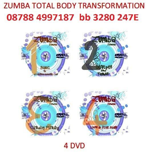 JUAL DVD ZUMBA FITNESS
