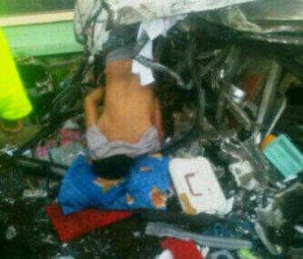 Kecelakaan bus Pariwsata SMA 2 Bina Warga Palembang