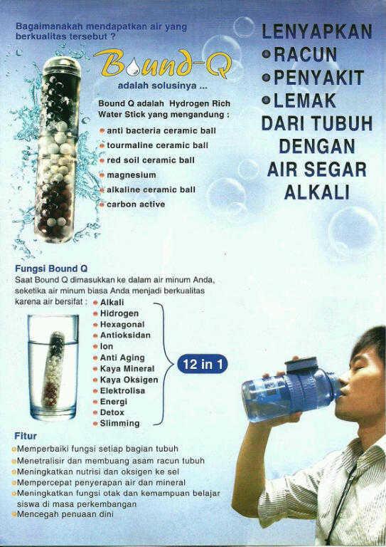 Magic Energy Ion Bottle