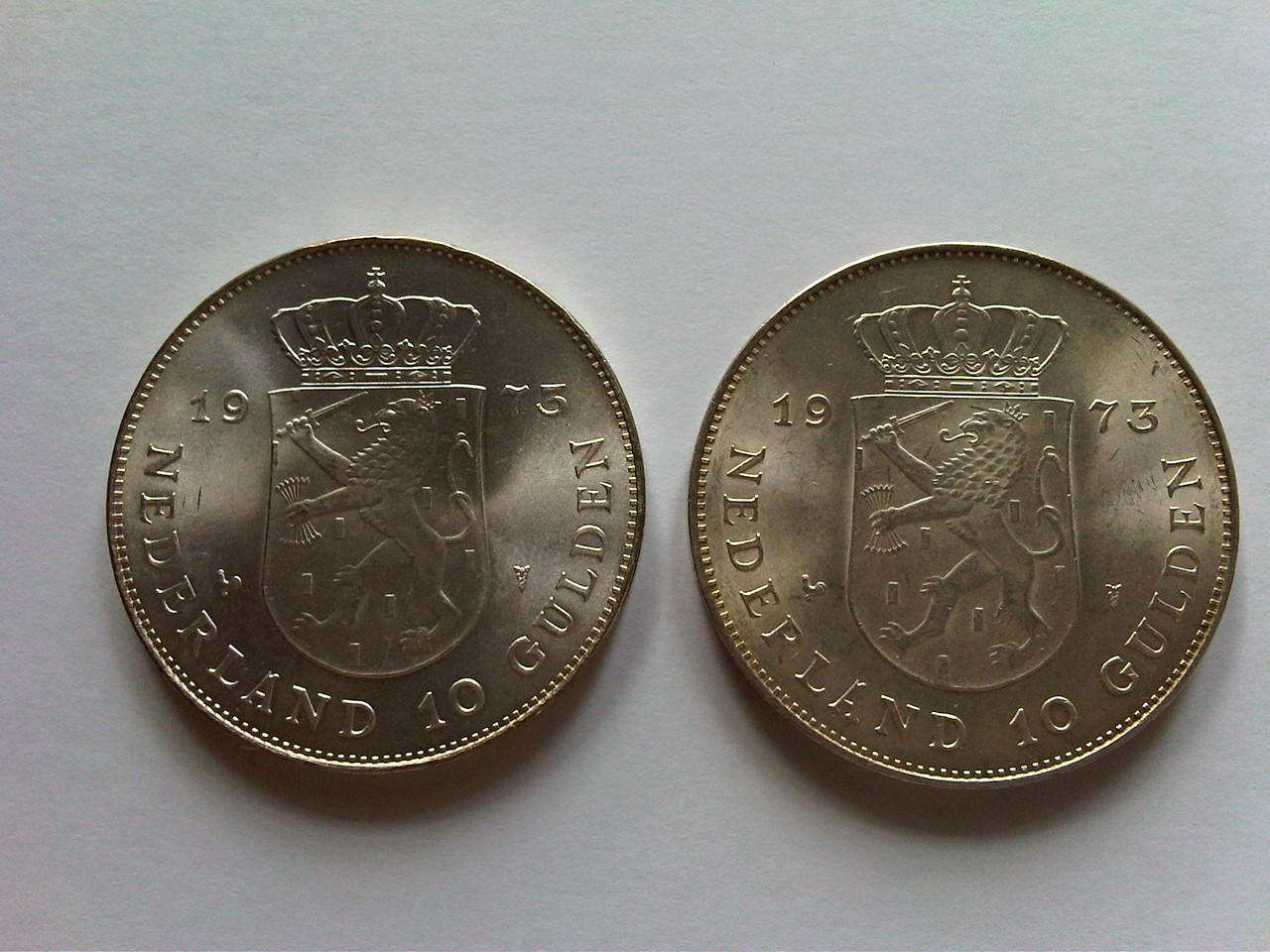 Koin Perak Netherlands 1973