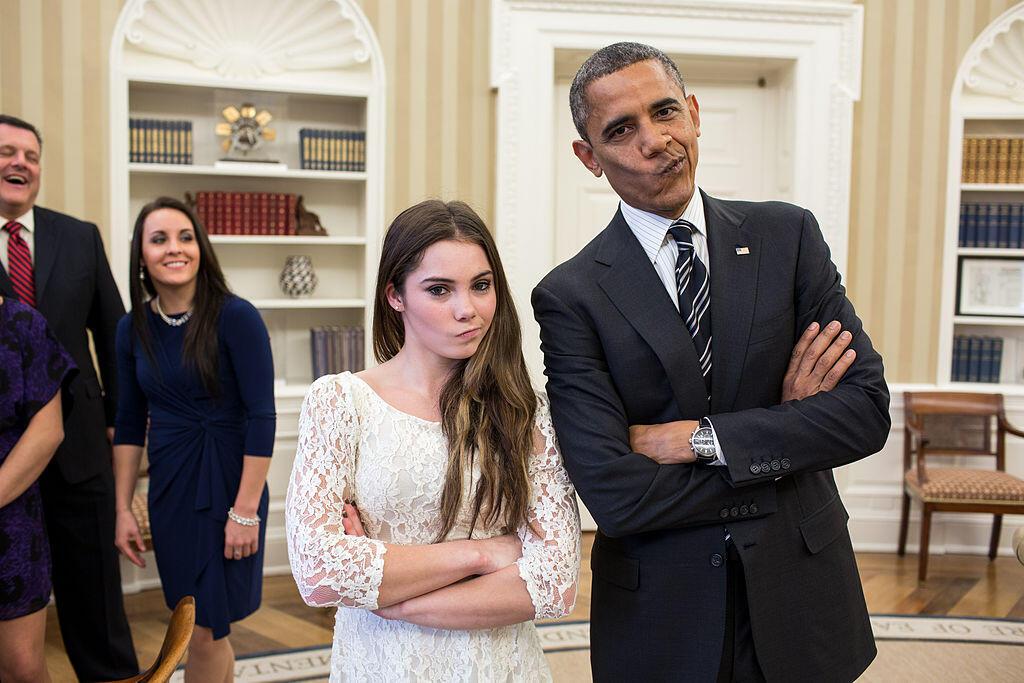 Foto-foto Narsis Obama Waktu Muda