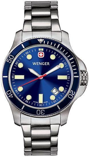Wenger 72328 Watch Battalion III Diver Collection