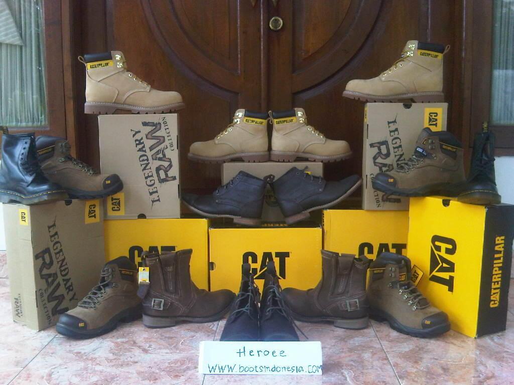 Sepatu Caterpillar - Caterboot - sepatu dr martens- docmart boots lengkap 9c534b9e7f