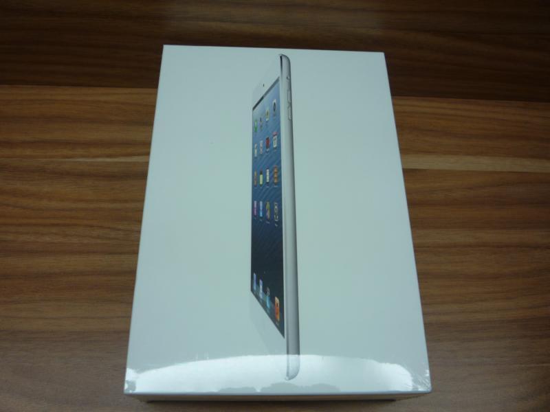 New ipad mini wifi + cellular 16GB, WHITE