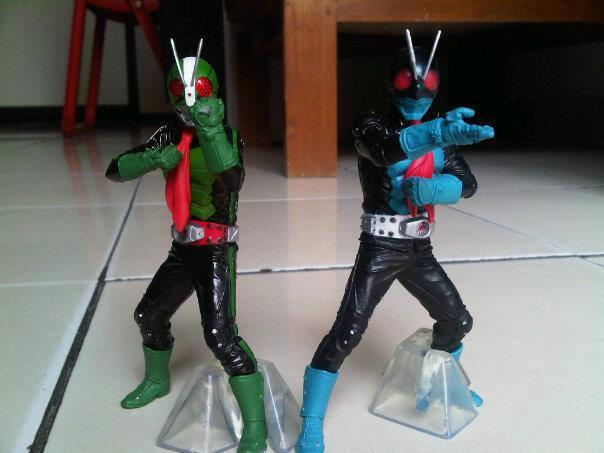 Ultimate Solid Kamen rider Ichigo Nigo The First