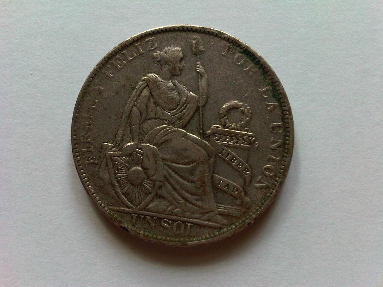 Koin Perak Peru 1930