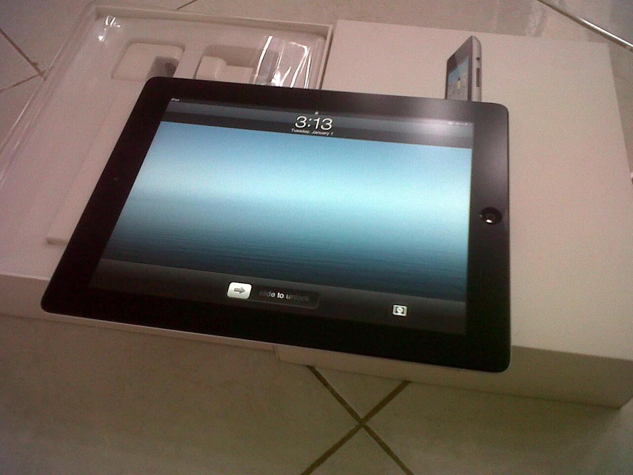 ipad 2 16 GB black - pembelian toko PDA & Masih garansi
