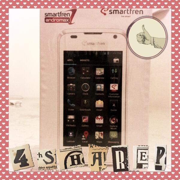 Smartfren Andromax i2 New Bnib Terbaru