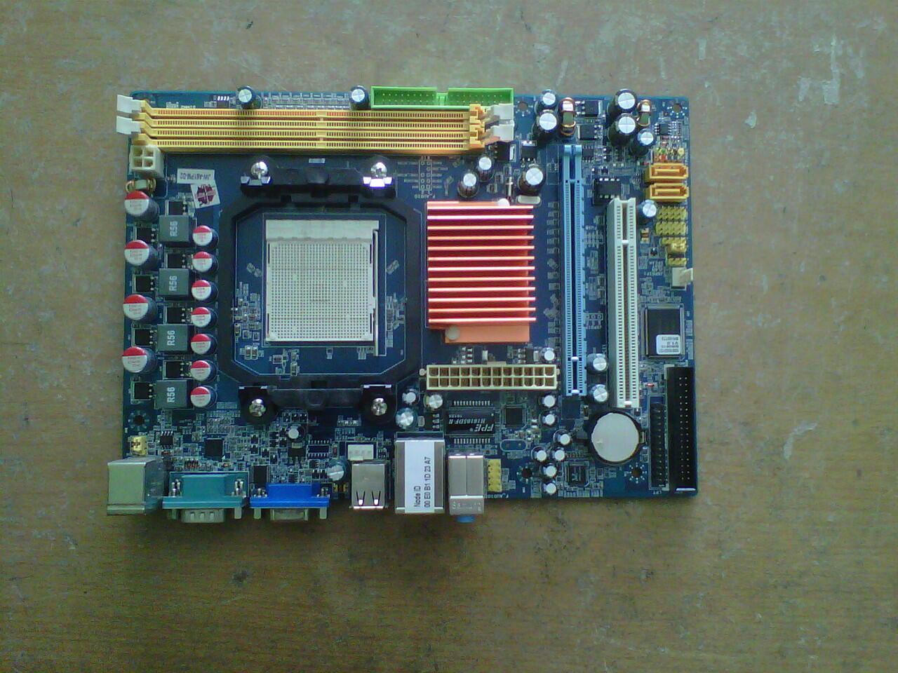 Di Jual motherboard socket AM2+ J&W A61PMD2
