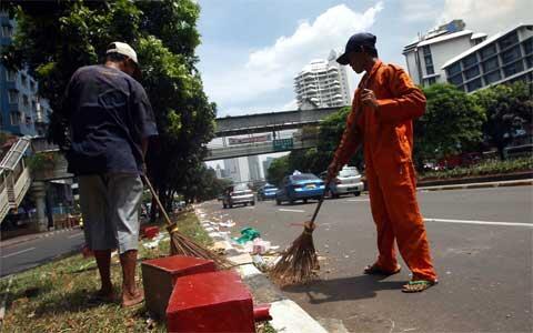 Sampah Jakarta Night Festival Mencapai 600 Ton