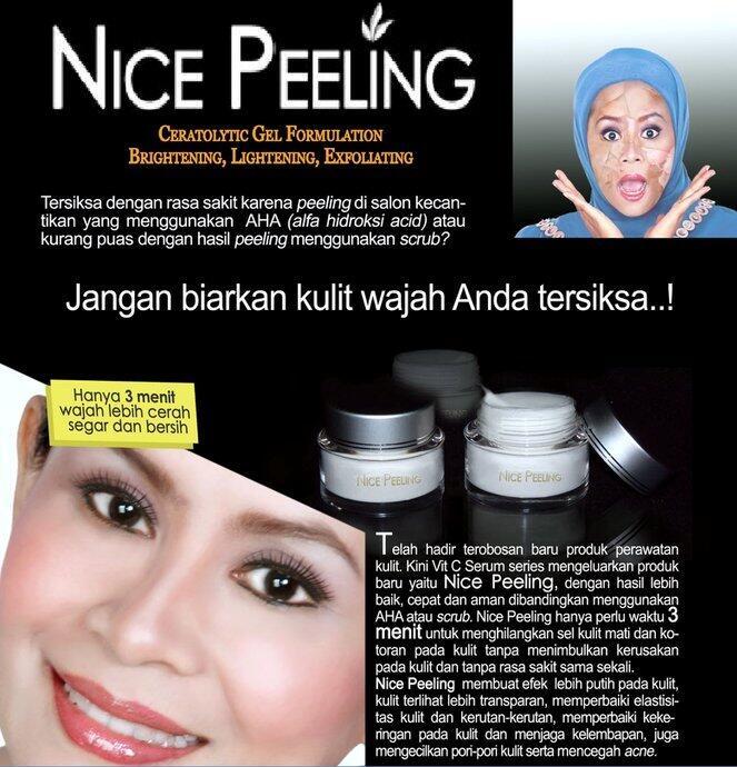 efek samping peeling