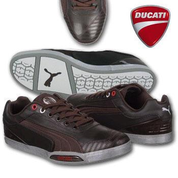 Terjual Sepatu Puma Ducati Brown Low  f31ea47519