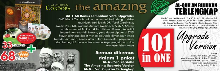 NEW!! ALQURAN CORDOBA UPGRADE VERSION 101 IN ONE - TERLENGKAP!!