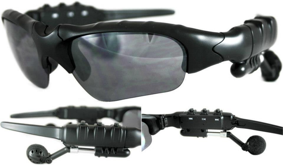 Mp3 Sunglasses, Kacamata hitam Mp3 Player