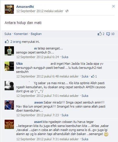 Kumpulan status (FB,BB,Twitter) terakhir sebelum meninggal (Yang Takut Mati MASUK !!)