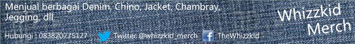 [READY STOCK] Denim Chino Jacket Chambray ===Whizzkid Merch===