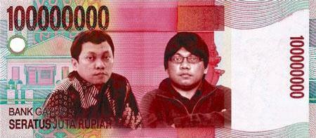 Mata uang baru tahun 2013
