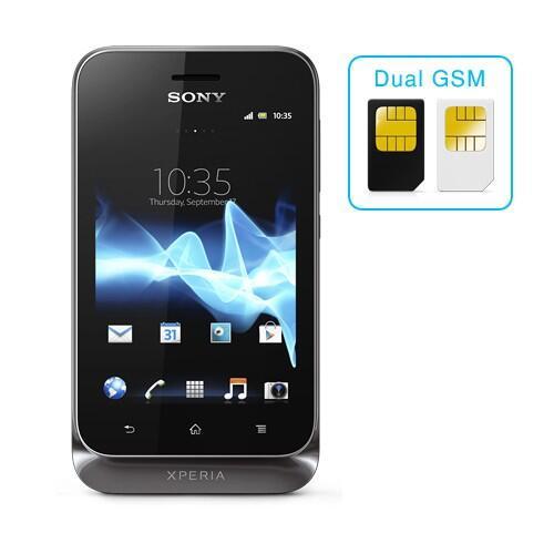 Sony Xperia Tipo Dual ST21i2 - Black