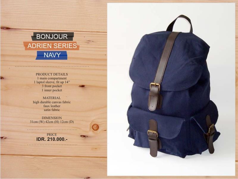 BONJOUR BAG :) - vintage bag , tas notebook , sling bag , UNISEX [HARGA TERJANGKAU](: