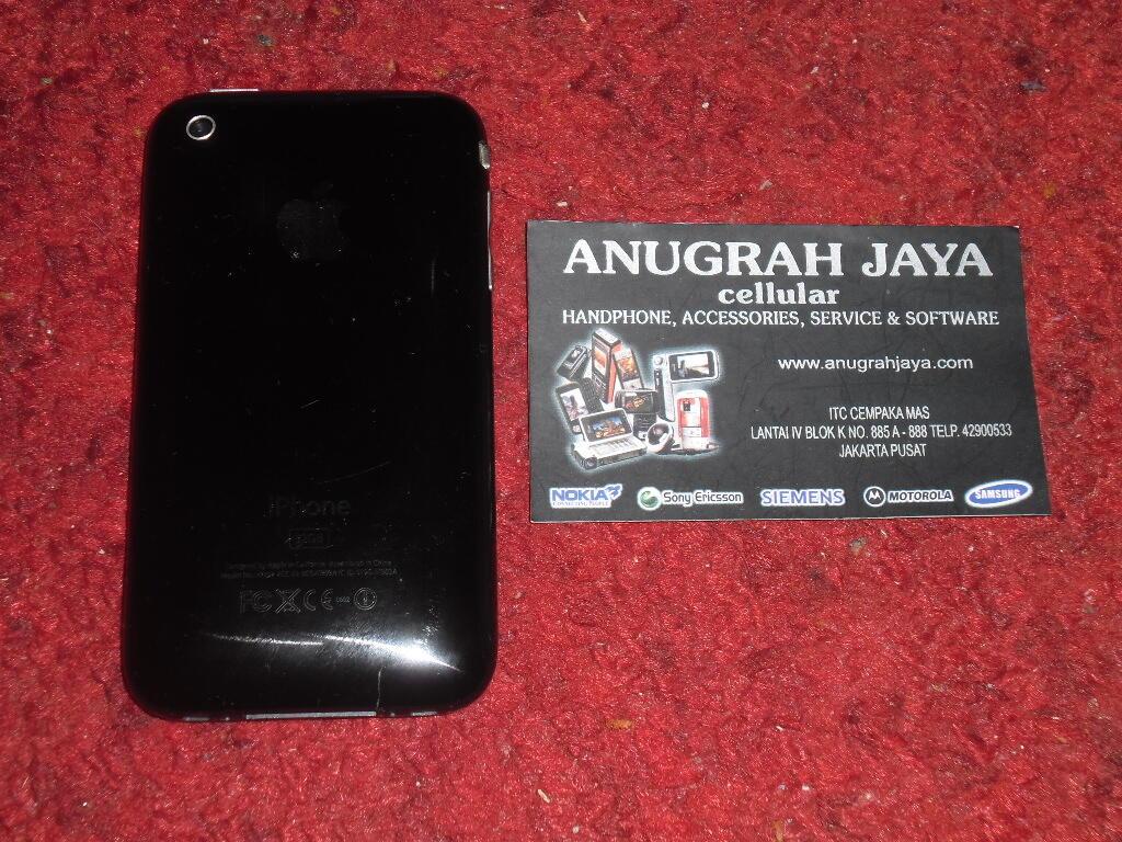 iPhone 3GS 32GB FU Black Second Mulus 95%, Lengkap, Murah Gan