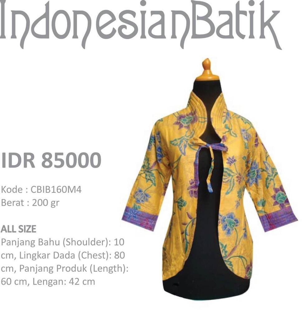 Rompi dan Bolero Batik Murah