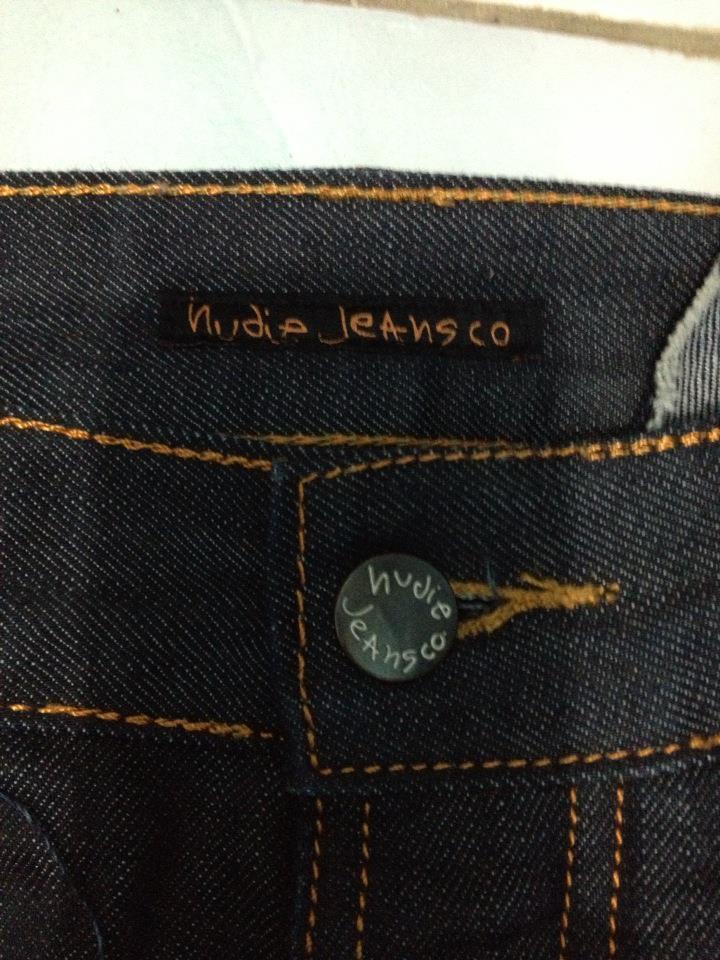 jual celana jeans Nudie, jarang pake!!!