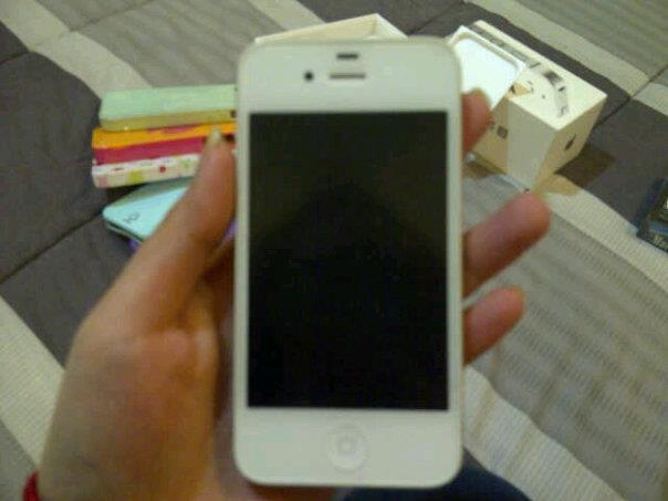 iPhone 4S white mulus 99%