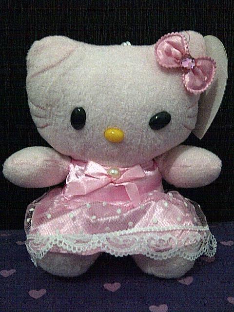Terjual Boneka Rekam suara hello kitty (hellokitty collection)  4989a9a706