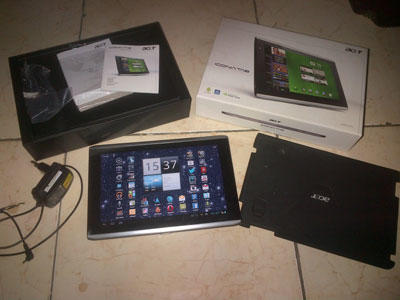ACER ICONIA A501 16gb BAGUSSS MULUSSS