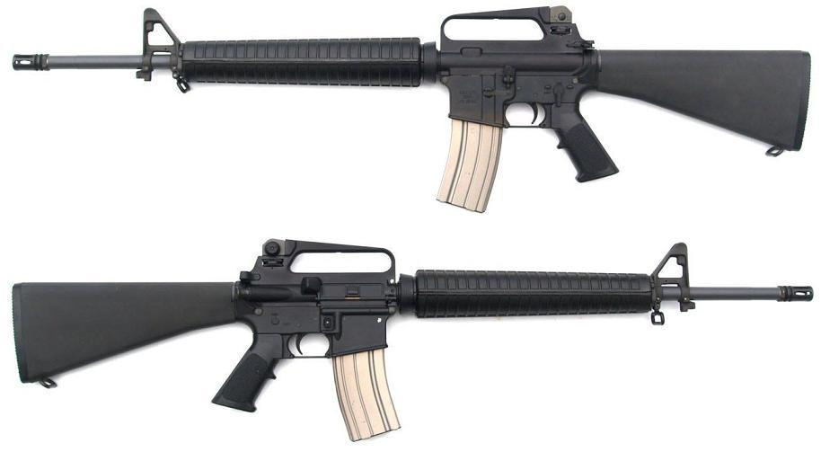 senapan serbu m16 beserta keturunannya kaskus
