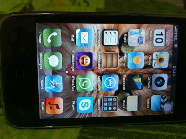 [WTS] Iphone 3GS 16GB White FU( Fullset + 95% Mulus ( Mulus lah ) 2Jt sajah