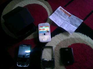 (wts) BB blackberry gemini 3g 9300/kepler white depok-jaksel