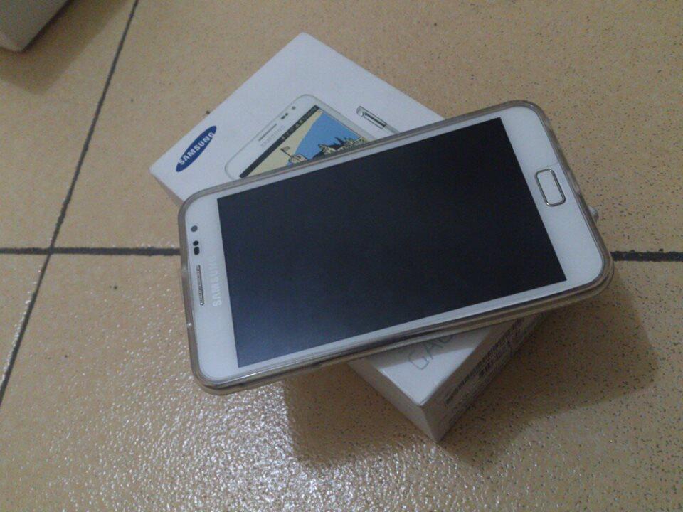 samsung Galaxy Note Grs. Mulus White (MEDAN)