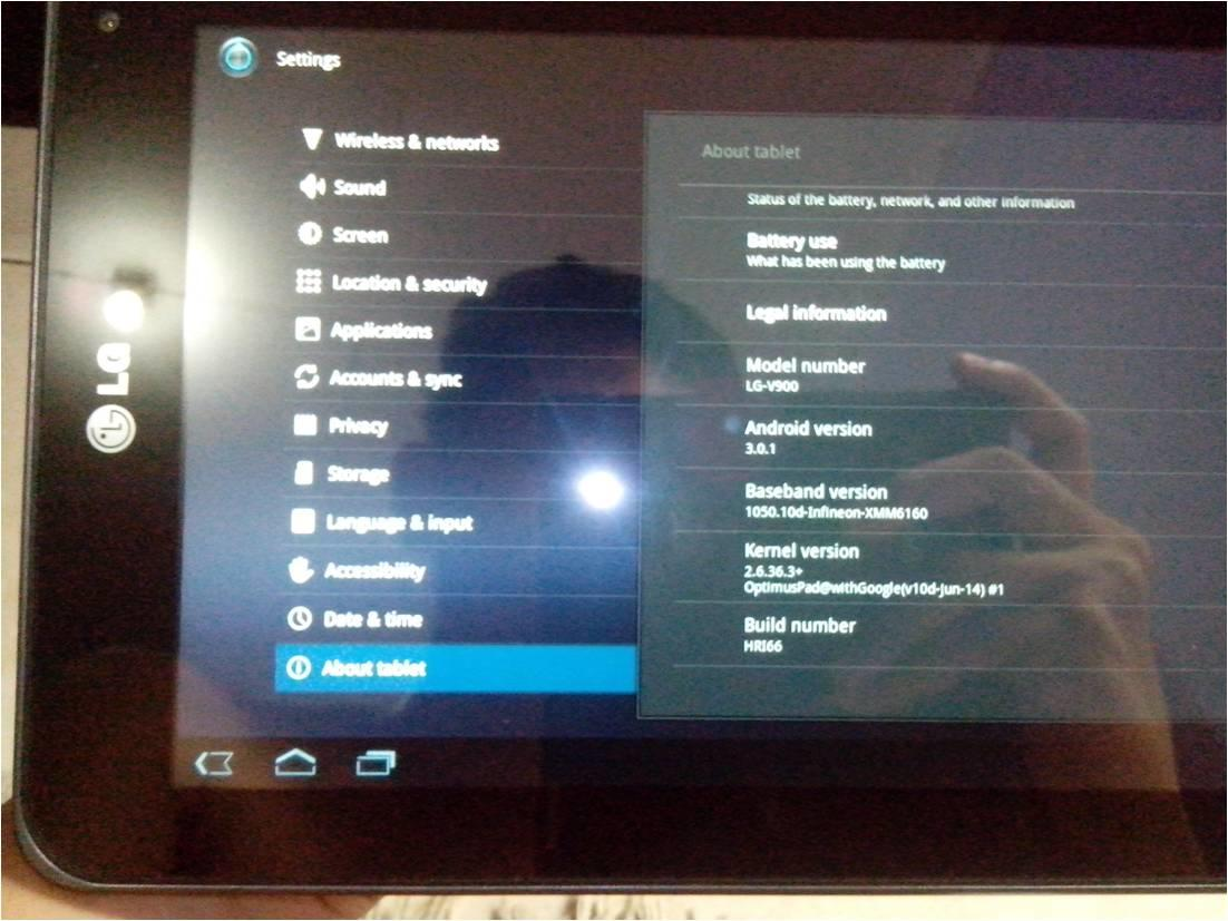 Jual LG Optimus Pad 3D V900 32Gb