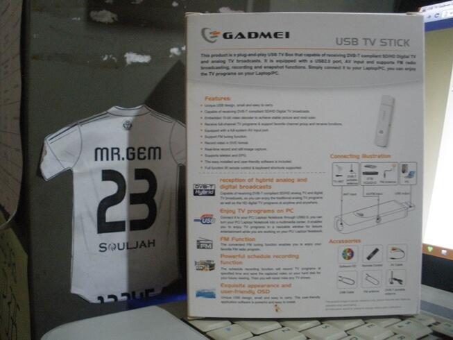 USB TV Gadmei UTV 380 Hybrid (ukuran mini, gambar maknyooos)