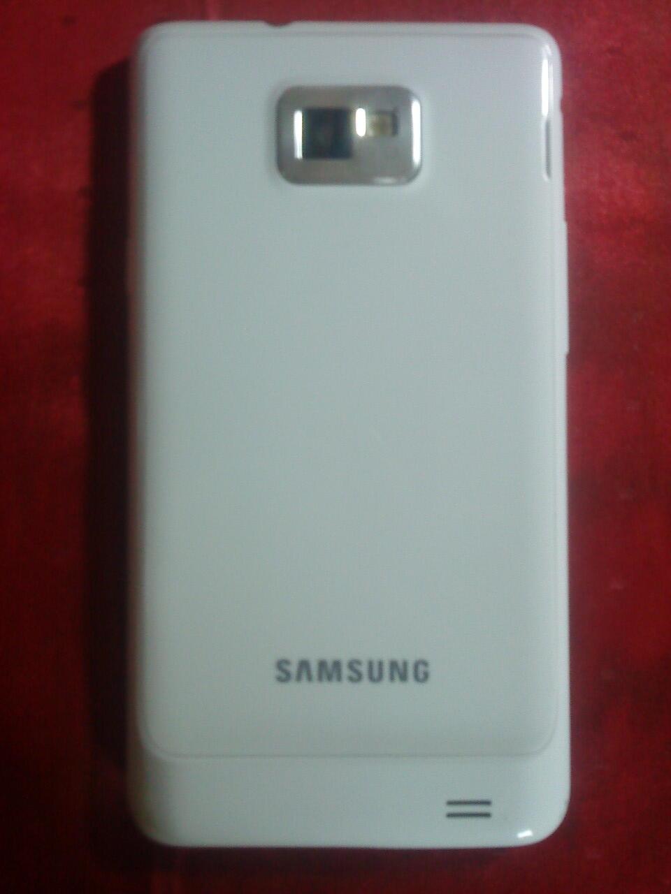 samsung galaxy s2 ( i9100 ) white mulus free ++