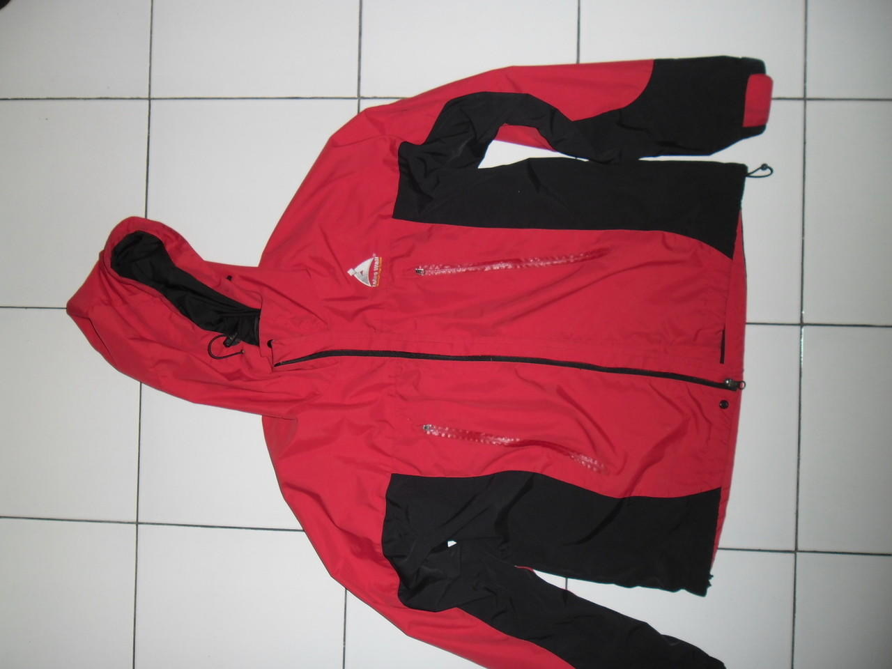 Jaket Parasut waterproof Zebra wall Ori Second