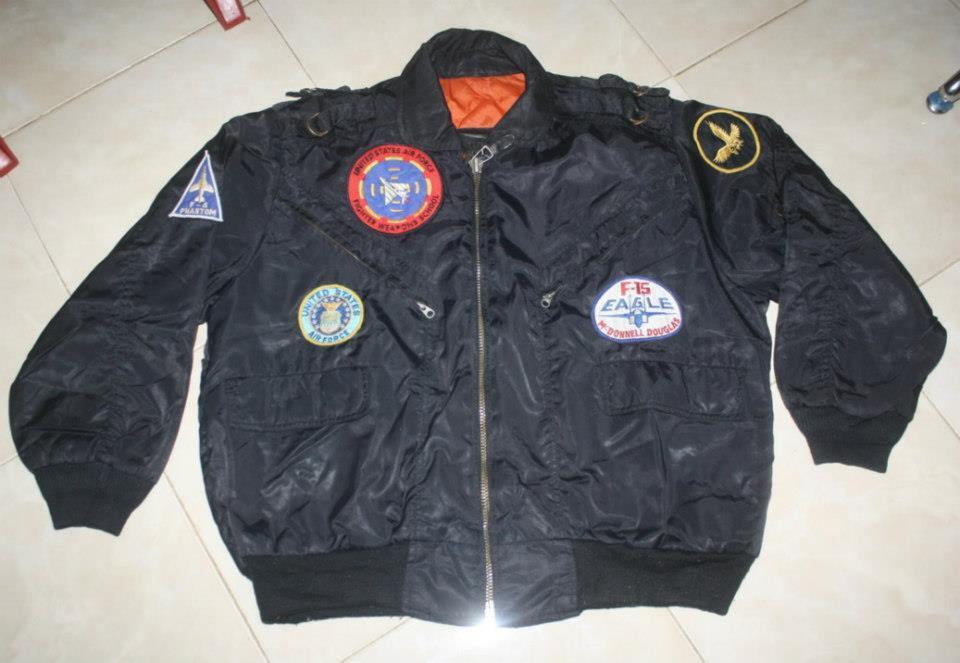 jaket Army USA MA-1 / tni