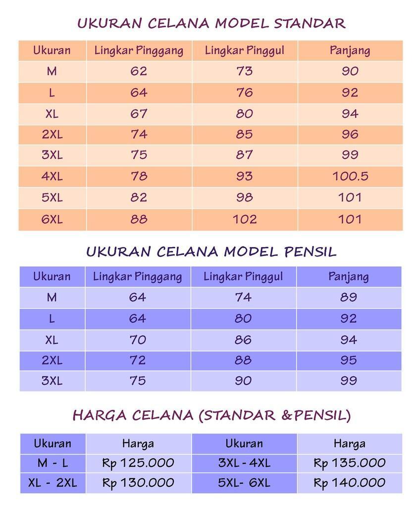 Celana Denim Stretch Size M - XXXXXXL merek Dauky Bandung