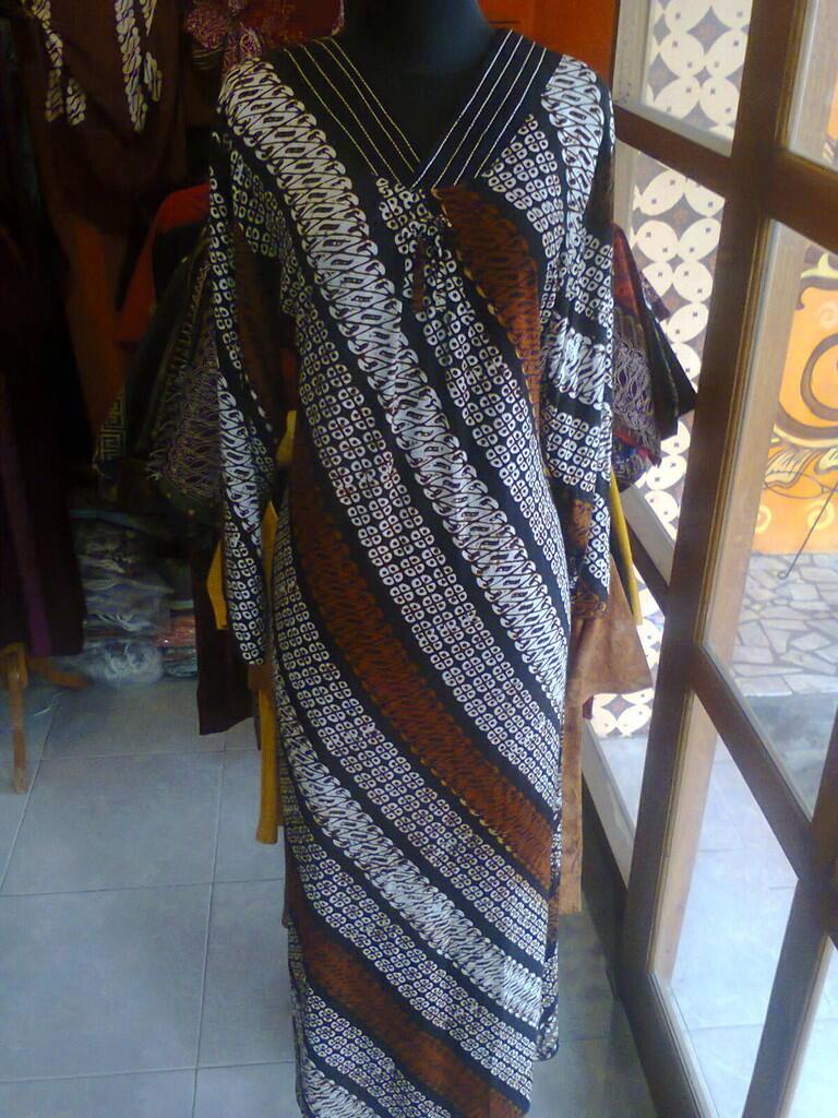 Batik ceria longdres cap produksi sendiri lhow agan/sista